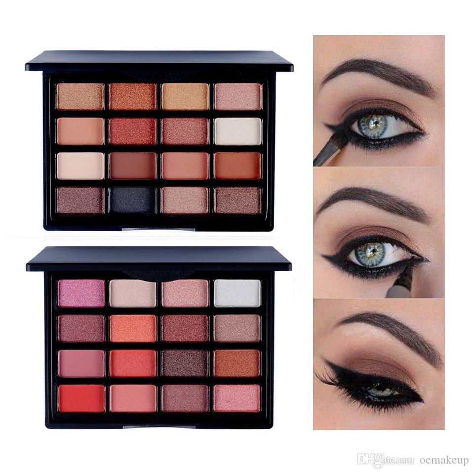 Popfeel 16 ألوان ظلال العيون مستحضرات التجميل