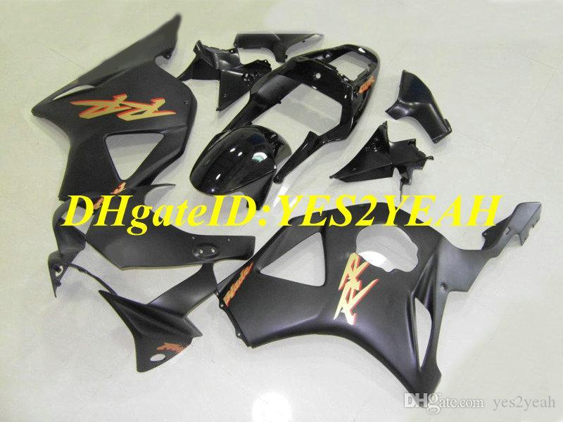 Honda CBR900RR 954 02 03 için özel Enjeksiyon kalıp Kaporta kiti CBR 900RR CBR900 2002 2003 ABS Mat Parlak siyah Balmumu set + Hediyeler HC20
