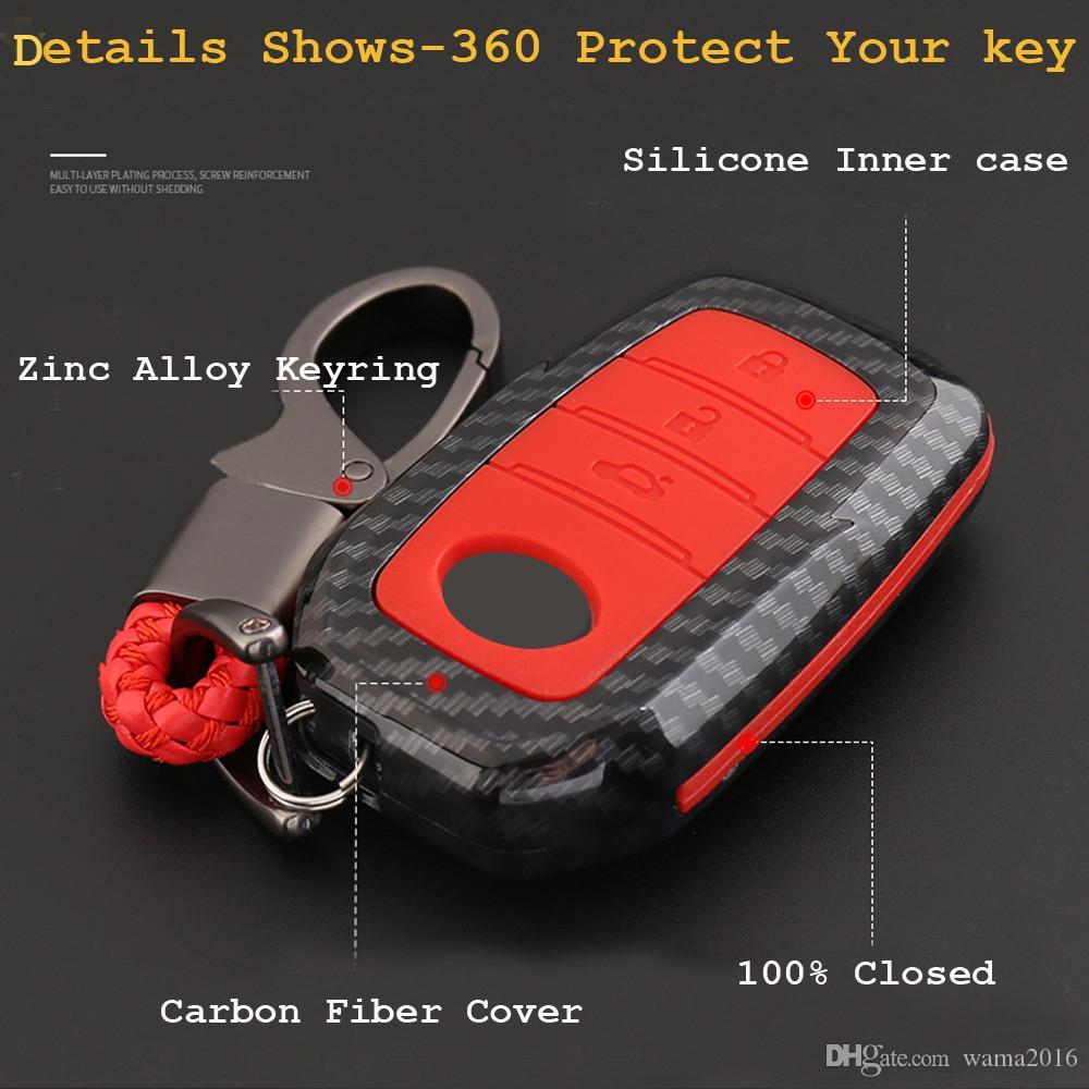 Vente chaude 3 boutons couvercle du boîtier shell clé de voiture pour Toyota Hilux Fortuner Land Cruiser Camry Coralla Couronne RAV4 Highlander 2016 2017 2018