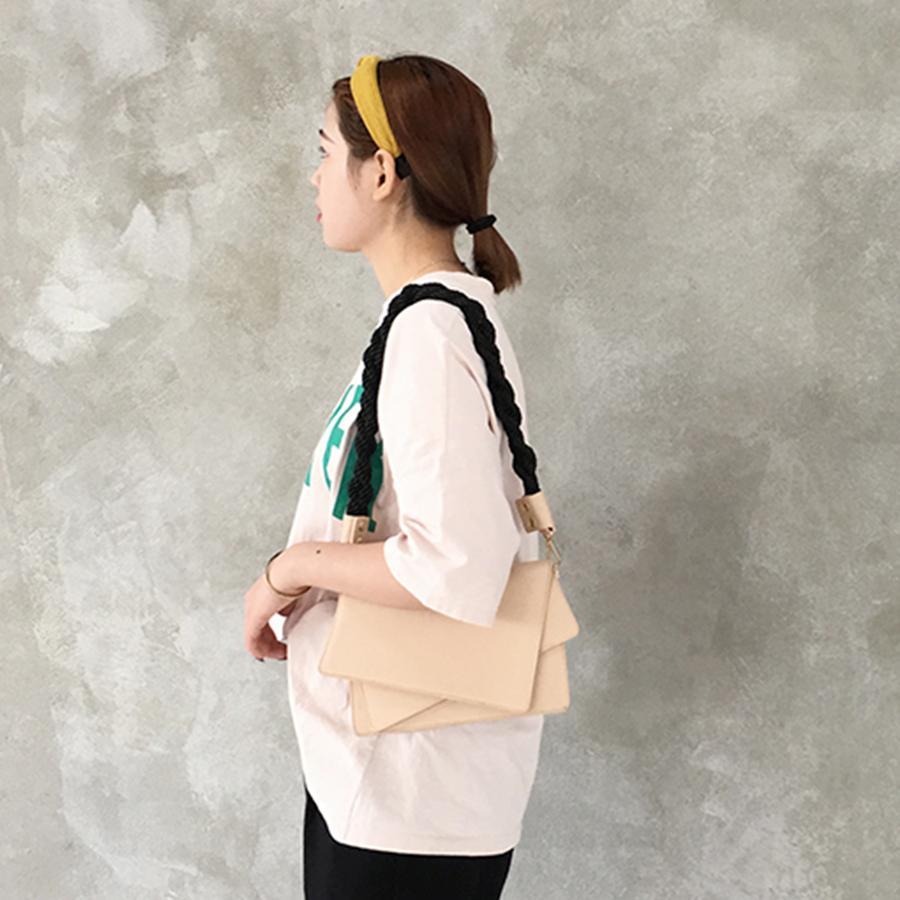 Fashion Irregular Shape Crossbody Bags For Women Vintage Woven Rope Shoulder Bag For Ladies Daily Wild Handbags Female Elegant