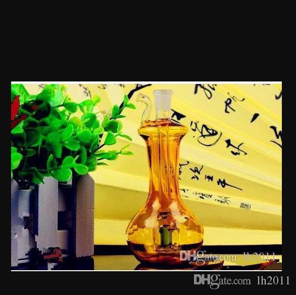 Vaso di colore completo narghilè all'ingrosso di vetro bong Tubi Oil Burner bicchiere d'acqua tubi in vetro tubo, vetro,