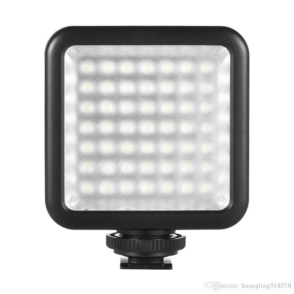 Cannon için W49 mini0 LED Video Işığı Kamera Lamba Işık Fotoğraf Aydınlatma / Nikon için / Sony Kamera veya Kamera akıllı İçin