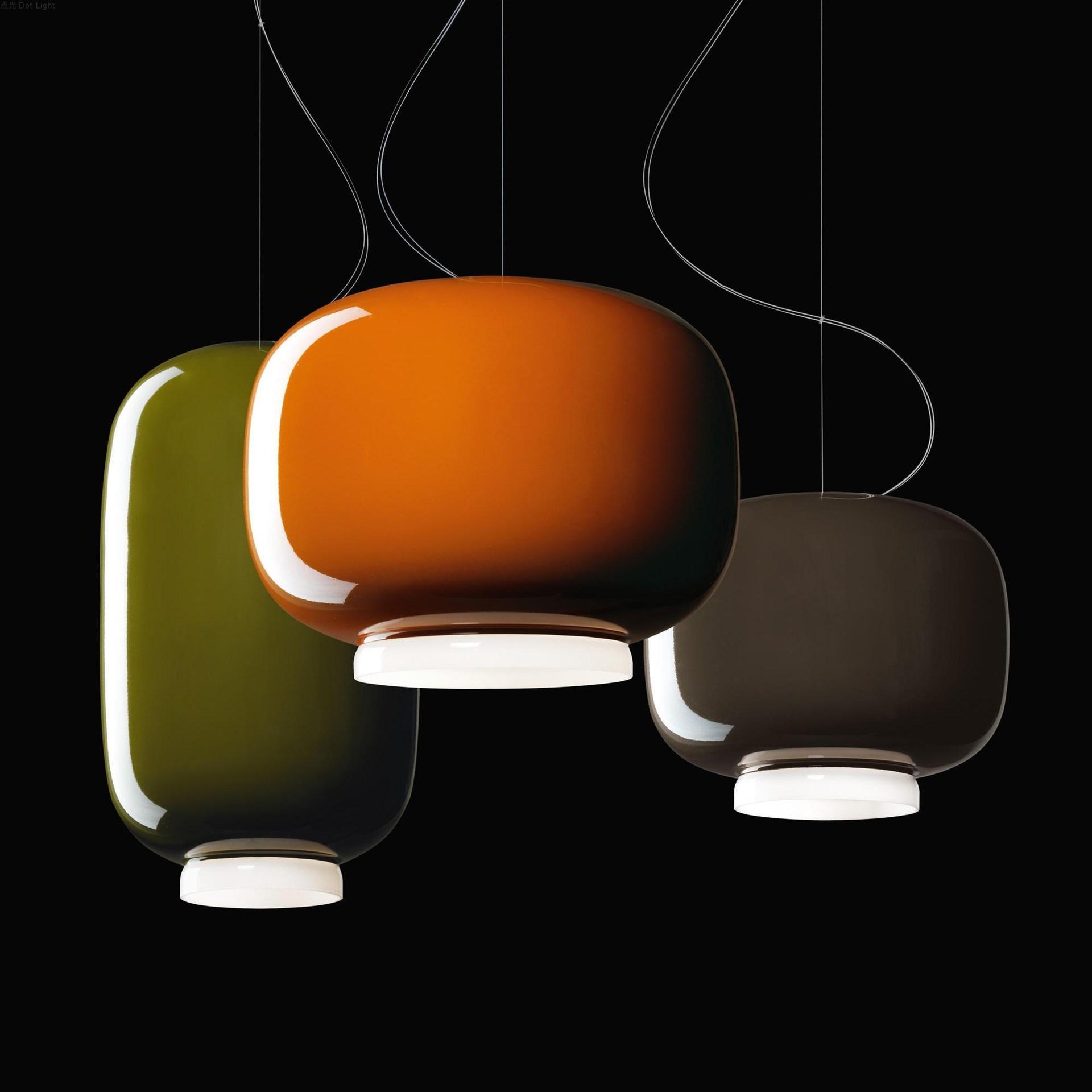 Moderna linterna creativa colgante luz restaurante hotel decoración de la casa sala de estar dormitorio araña Foscarini FIXTURE PA0693
