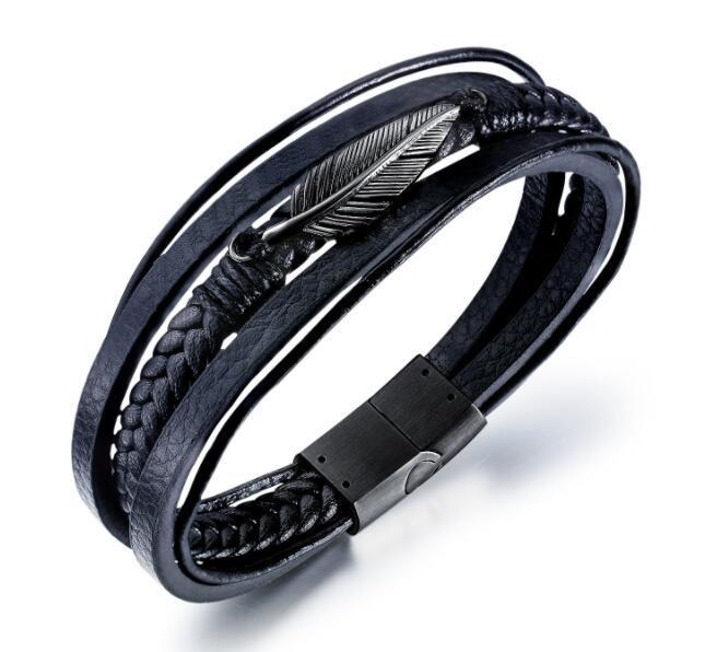Designer Bracelet Luxury Designer Jewelry Mens Bracelets Fashion Men  Jewelry Multilayer Belt Circles Leather Bracelet Weaving Handmade Bangl  White Gold Charm Bracelets Silver Charm Bracelets For Women From Uniqu,  $33.75| DHgate.Com