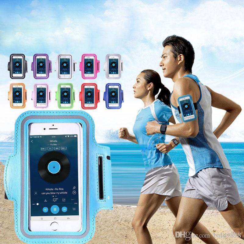 Водонепроницаемый спортивный чехол для iPhone X 8 6 6S 7 Plus Oneplus 7 Тренировка Бег Тренажерный зал для Redmi Note 7 Сумка