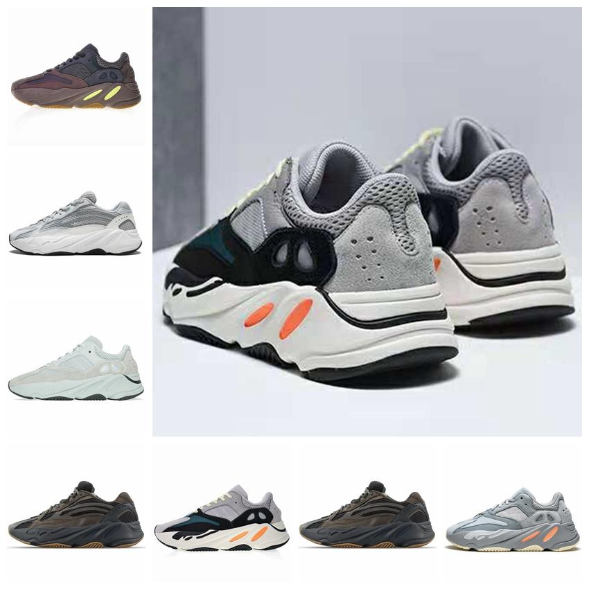 Adidas 2019 Wave Runner 700 V2 Hommes Chaussures De Course Geode Statique Mauve Sel Solide Gris Inertia Mode Femmes Sports Sneakers Chaussures 36-45