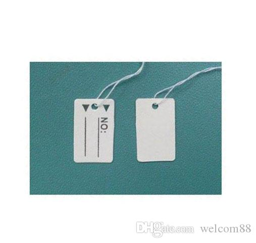 Free Shipping 500pcs/lot Label Tags Price Tags Card For Jewellery Gift Packaging Display 15mmX25mm LA03