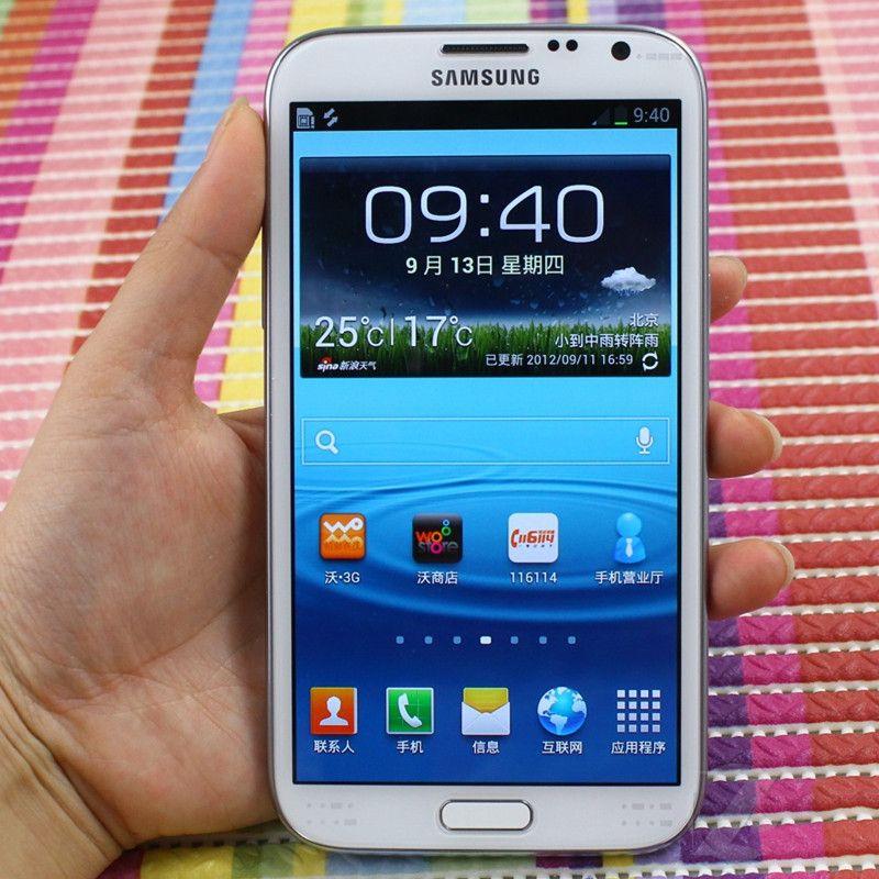 Reformiert Original Samsung Galaxy Note 2 N7100 N7105 5.5 Zoll Quad Core 2 GB RAM 16 GB ROM entriegelte 3G 4G LTE Smart-Handy-freies DHL