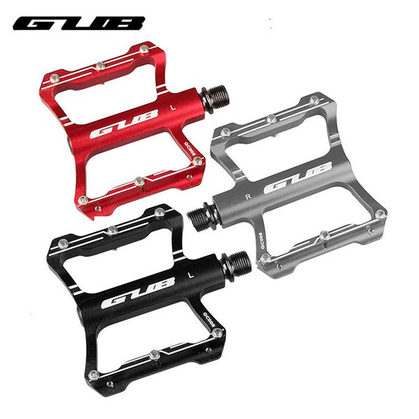 Super Light bicicleta GUB CNC alumínio Liga Lease Sealed Pedal 2pcs De Passeio de bicicleta MTB bicicleta pé parte Plataforma Anti-derrapagem