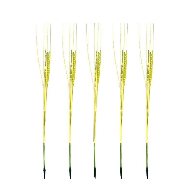 На открытом воздухе люминесценции пшеницы шип лампы водонепроницаемый светодиодные фонари заземления фонари для площади сада декора фабрики сразу 4 2jy E1