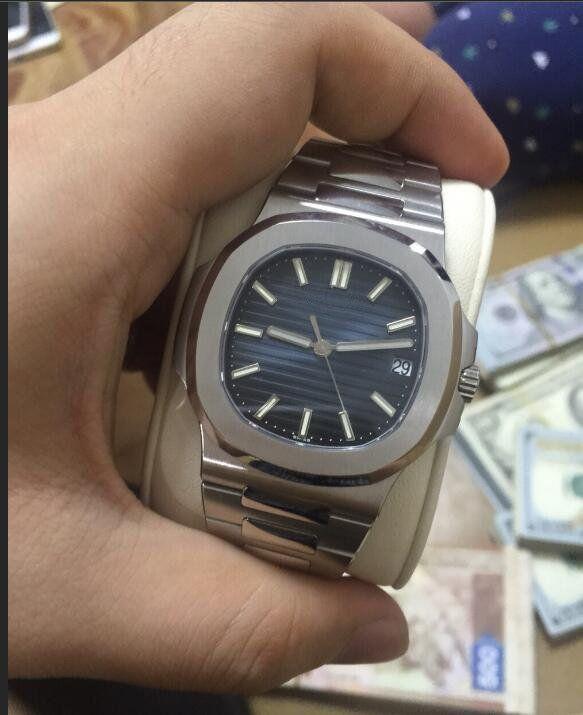 고품질 남자 시계 기계식 자동 운동 스테인레스 스틸 남성 손목 시계 011