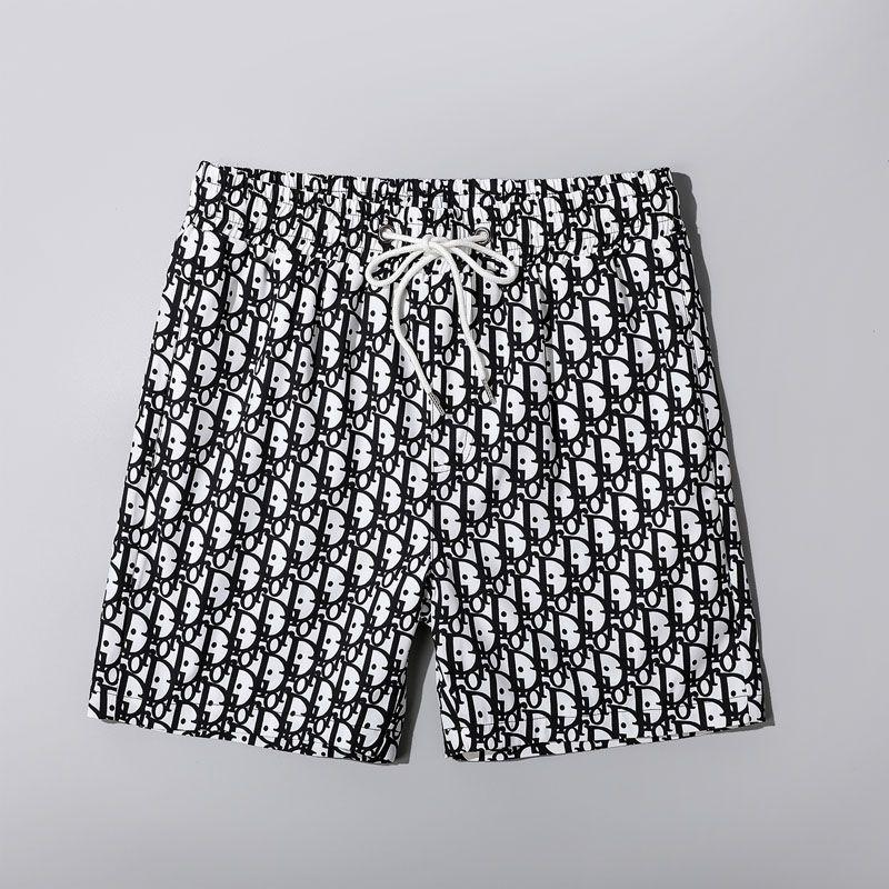 سروال الفاخرة الصيف السراويل العلامة التجارية رجالي بيتش مع السراويل التمويه مصمم أزياء سروال رسائل الركبة طول بانت فضفاضة M-3XL