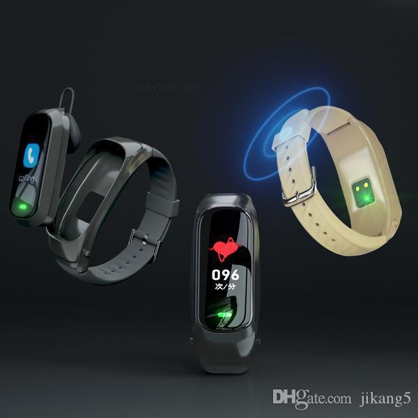 JAKCOM B6 Smart Call Guarda Nuovo prodotto di cuffie auricolari come punta souvenir bracciali grafico a goccia 510