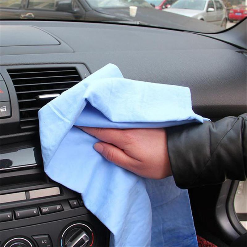 السحرية العناية السيارات الجلد المدبوغ PVA جلد الأيل الشامواه فوط تنظيف السيارات شام منشفة منشفة الإسفنج سوبر ماص