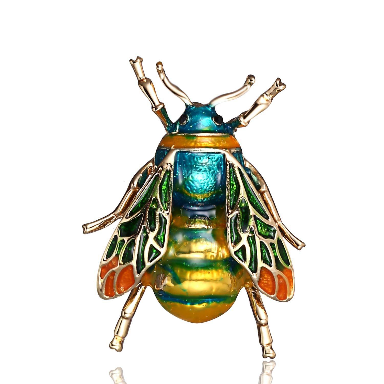 Tendencia de moda nuevo listado de productos abeja broche nuevo producto listado al por mayor broche de aceite a medida broche vintage