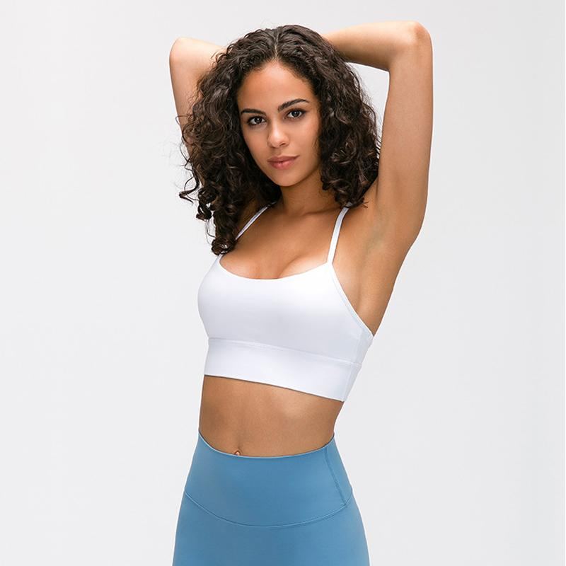 Women's Sport Bra Push Up For Fitness Gym Yoga New Sizes S M or L