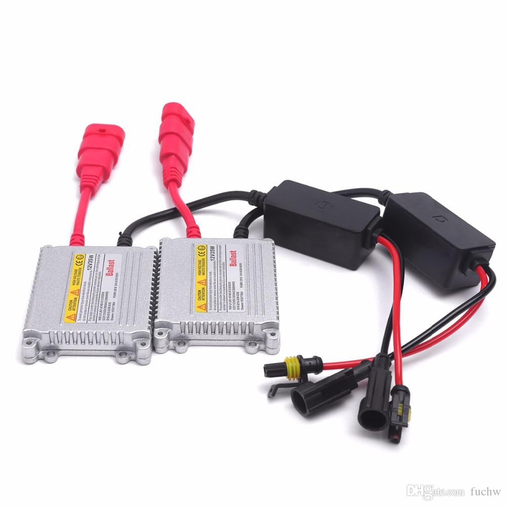30PCS AC 35W 12V HID Slim Ballast for HID Xenon Headlight bulb H7 H11 4300k 6k for car honda&Toyota with stock fast shipping free shipping