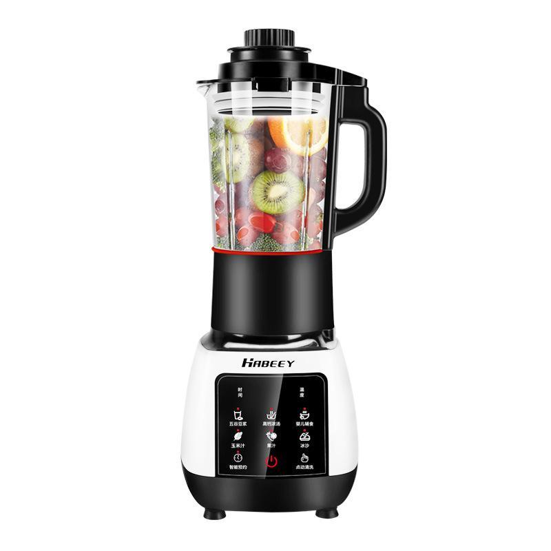 220V 1.2L Automatique Multifonction Cuisson Machine Juicer Soya Lait Chauffage Chauffage 12 heures rendez-vous Haute tasse en verre borosilicate