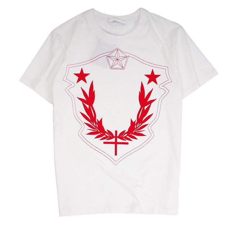 Мода Роскошные мужские дизайнерские футболки Повседневная Мужчины Лето Короткие рукава высокого качества печати Мужчины Женщины тенниска 2 цвета