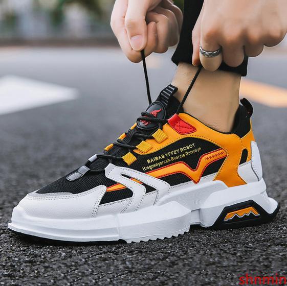 NON-Marken-Schwarz-weiß braun kühlen roten Low-Cut-Brown-Mann-beiläufige Schuhe bequem alten Vater Schuhe Frauen Männer Turnschuhe Sportschuh 39-44 05