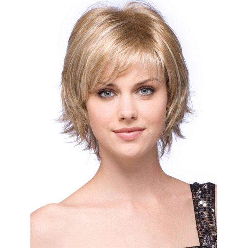 Kadın Kısa Kıvırcık Peruk Avrupa Popüler Platin Sarışın Sapıkça Gevşek Kıvırcık Saç Bayanlar Vücut Dalga Karışıklık Saç Isıya Dayanıklı Moda peruk