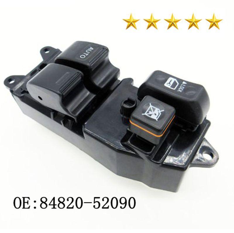 Nouveau Master lève-vitre électrique Commutateur de commande 84820-52090 848205209 pour Echo Yaris Verso fenêtre de voiture de haute qualité Lifter Commutateur