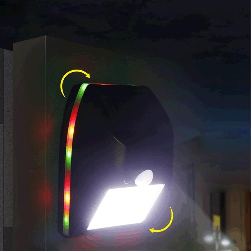 10,133 조명 태양 벽 램프 몸 유도 정원 램프 야외 정원 방수 빌라 홈 태양 광 보안