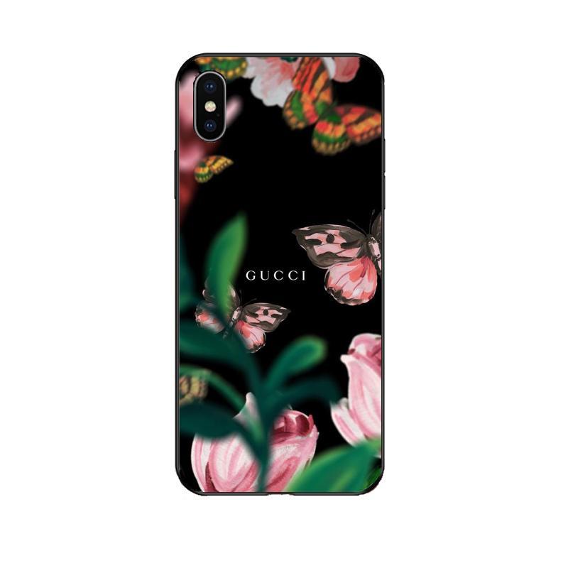 Lüks Guoi Telefon Kılıfı için IphoneXSMAX XR XS X 7 Artı / 8 Artı 7/8 6 s / 6 sp 6/6 s Moda Baskı Tasarımcısı Koruyucu Marka Arka Kapak 10 Stilleri