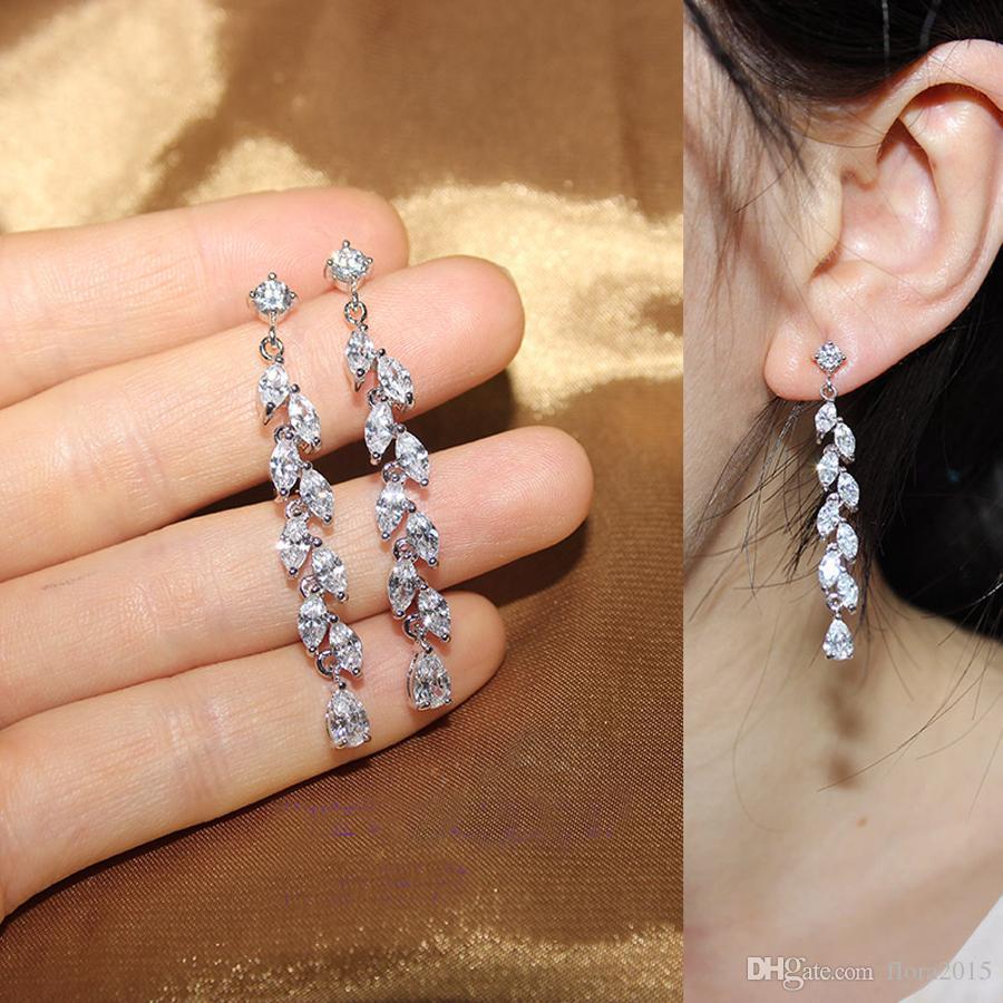 nouvelle forme de pompons de feuilles de placage sans nickel mode balancent boucles d'oreilles pour les femmes accessoires de fête cadeau de mariage