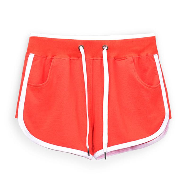 Heiße verkaufende Frauen-laufende Trainings-Shorts Yoga Sport Fitness kurze Hose Schlafen Startseite Kordelzug Shorts
