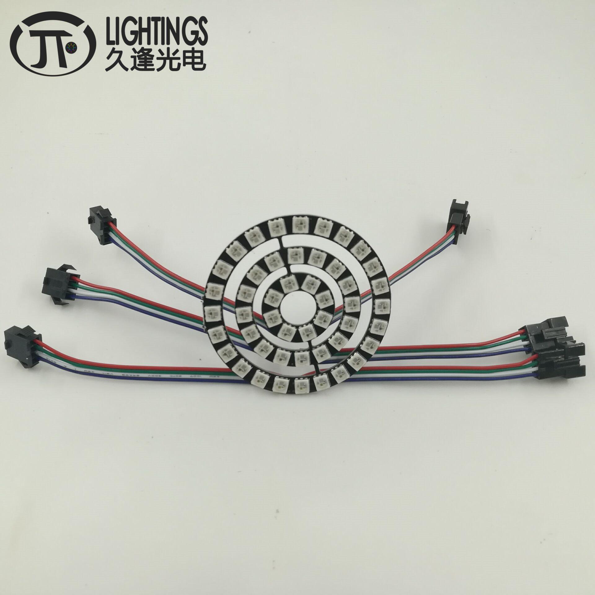WS2813 LED Anello Nuovo ws2812b 8 16 24 48 bit 5050 RGB WS2813 indirizzabile led anello LED Consiglio per Arduino 5VDC tipo di Striscia angel eyes