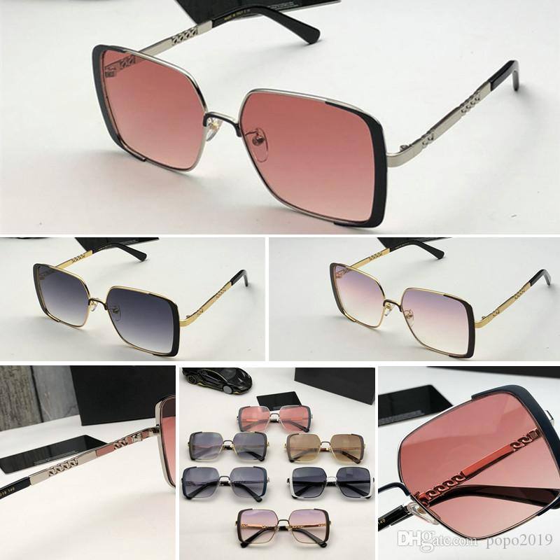 Luxury For Sunglass Style Coating Womens Fashion Sunglasses Designer Carbon Half Frame 4366 Mirror Sunglasses Wrap Legs Fiber Summer Le Iftv