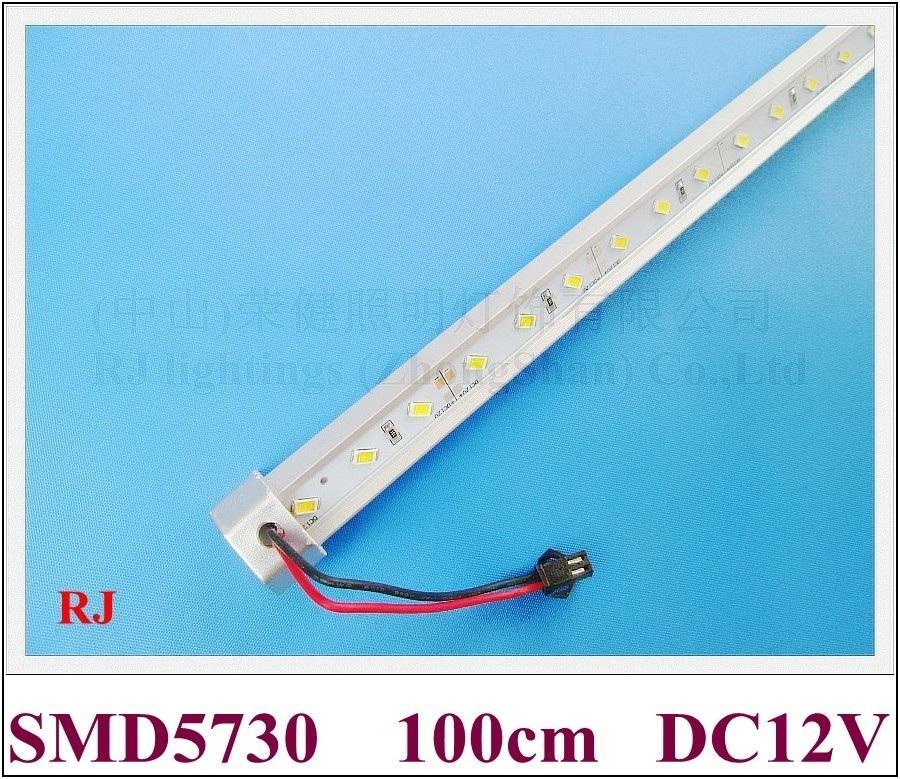 High Bright SMD 5630 LED Barra de luz LED LED Tira rígida Bard Strip DC12V 100CM 60 LED 12W Envío gratis