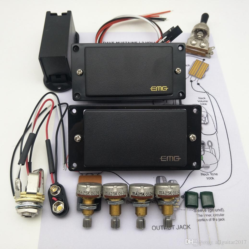 emg 81 85 wiring diagram 2020 emg 81 85 active pickup electric guitar humbucker pickups  electric guitar humbucker pickups