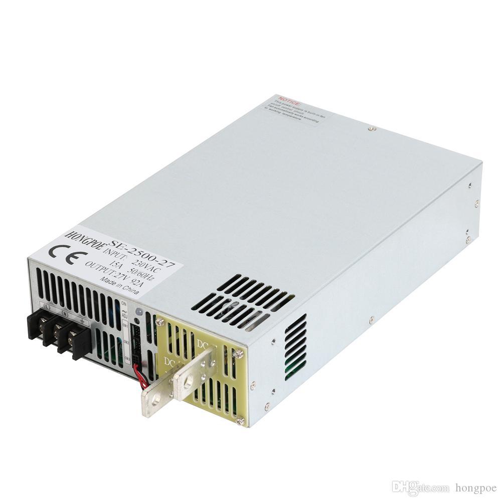 Переключатель режимов 2500W 92A 27V питания SE-2500-27 AC в DC 27V блок питания блок питания 27В 0-5В Аналоговый сигнал управления