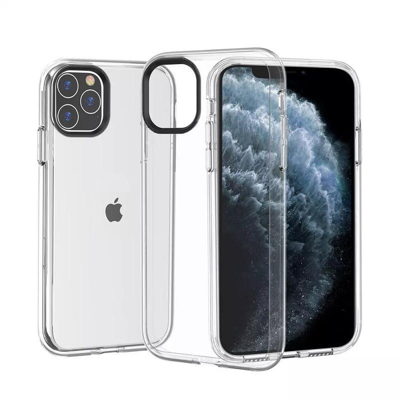 Pour iPhone 12 antichoc transparent Hybrid TPU TPU TPU TPU Couvertures de défenseur robustes pour iPhone 11 Pro Max XS MAX XR X 6 7 8 Plus