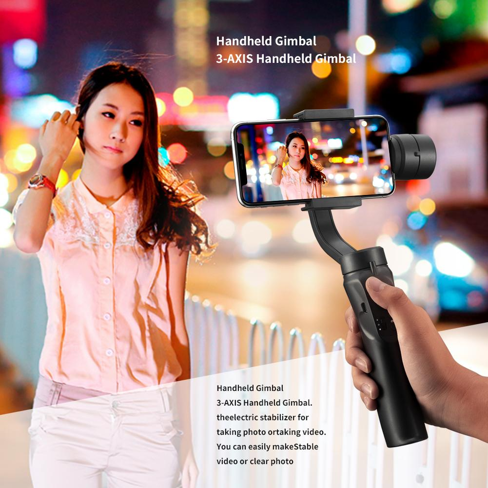 UK Smooth H4 Handheld 3-Axis Mobile Phone-Gimbal Stabilizer for iphone