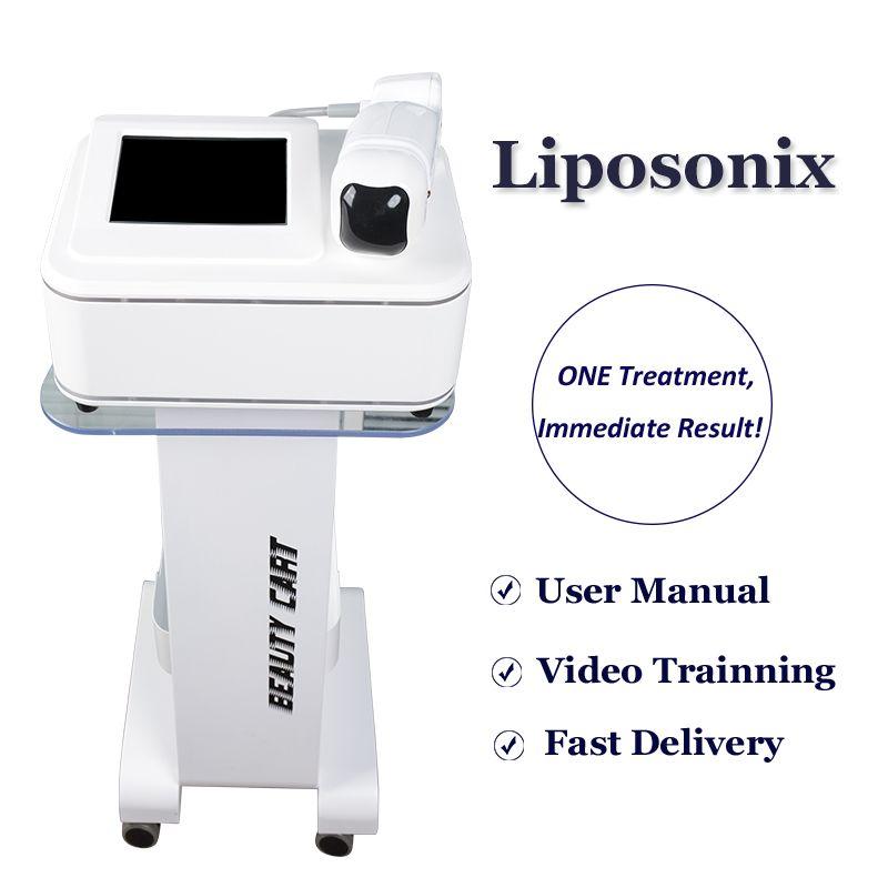2020 جديدة HIFU Liposonix آلة غير الجراحية علاج الدهون Liposonix جسم ينحل صالون المنزل استخدام ليبو إزالة الدهون جهاز للبيع