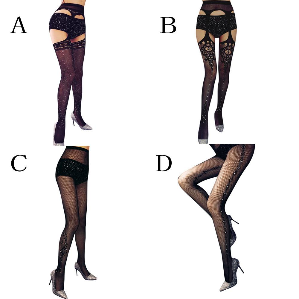 Girls Womens High Quality Hold Ups Microfiber Silicon Sheer Stockings