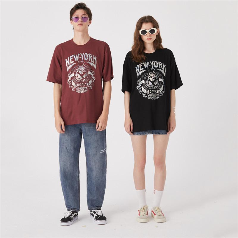 Liberty Oversize Bahar Tshirts 2051102V Of Womens Tasarımcı Tişörtler Moda Womens Yaz Tshirts Marka Kısa Kollu Heykeli