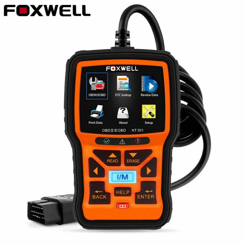 Foxwell NT301 OBD OBD2 Engine Car Code Reader Diagnostic Tool Multi-languages Universal OBD 2 Scan Tool odb 2 Automotive Scanner