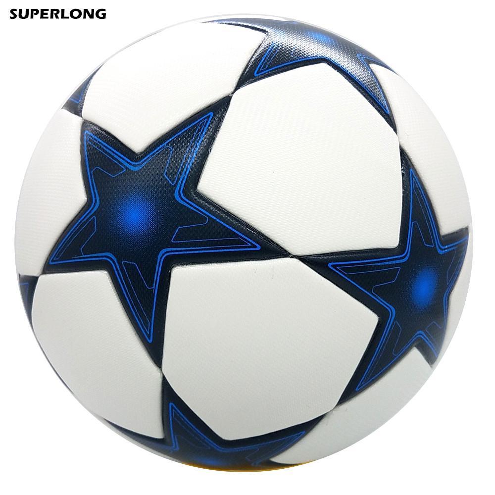 جودة عالية الكلاسيكية بطل الدوري حجم الرسمية 5 كرة القدم الكرة سلس بو كرة القدم الكرة المنافسة تدريب كرة القدم دائم