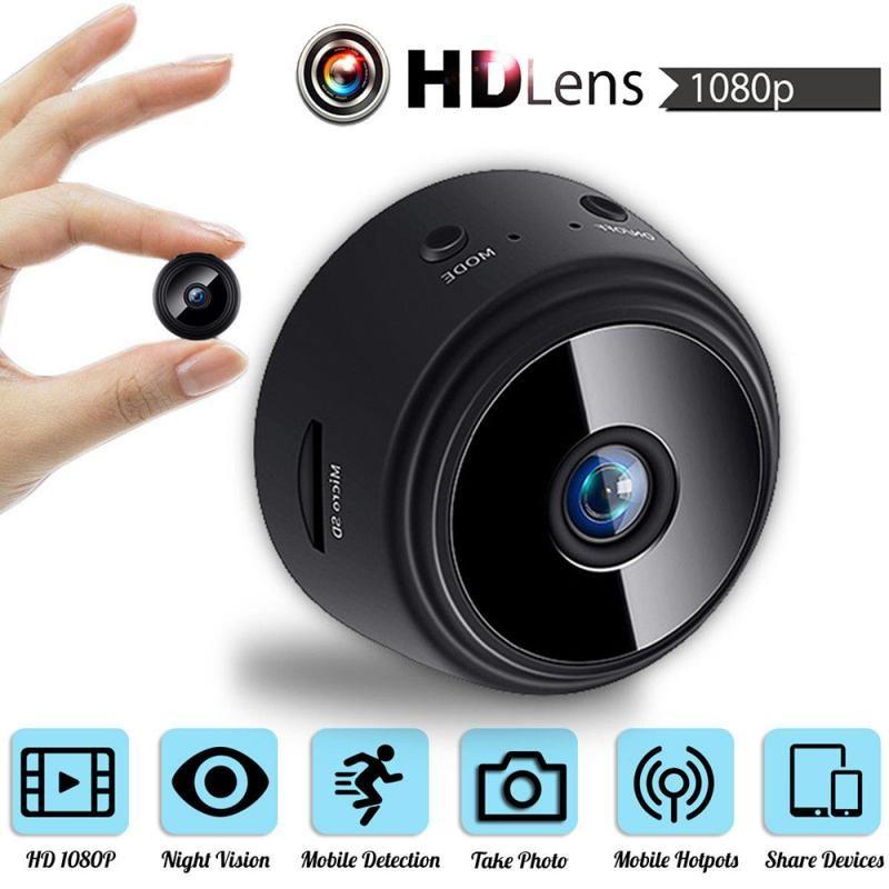 A9 DV / Wifi de la cámara IP al aire libre Mini versión de la noche Micro videocámara de la cámara de Voz seguridad del video de alta definición sin hilos Cámara de vídeo VS SQ8 SQ11 S06