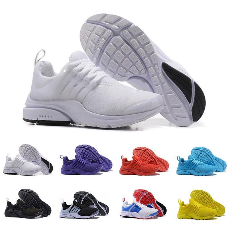 2019 Presto BR QS Triple-Pure White Designer-Turnschuhe Frauen der Männer Multi-Color Sport Sport treiben Jogging Laufen Männer Laufschuhe Größe 36-45