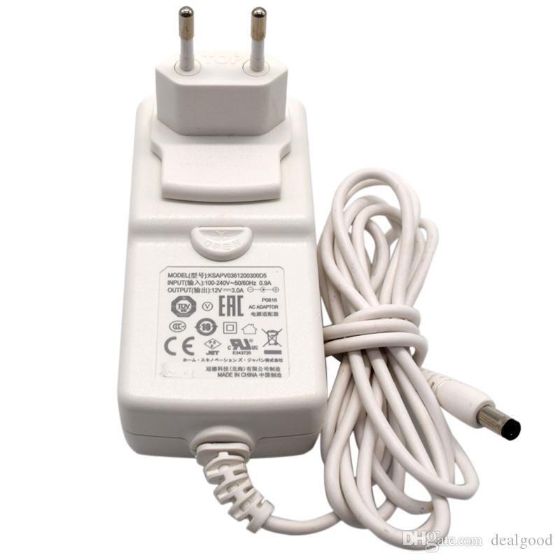 Pour KTEC Adaptateur secteur KSAPV0361200300D5 Chargeur d'alimentation 12V 3A Blanc ES plug 5.5mm * 2.1mm - Occasion