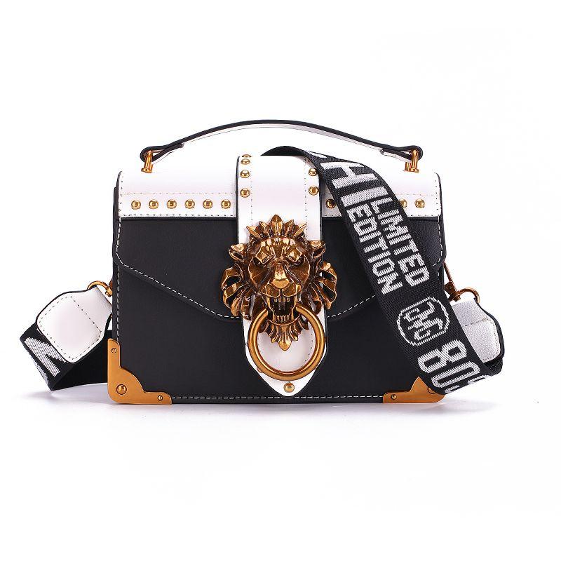 New Metal Mini Small Square Pack Shoulder Bag Crossbody Package Clutch Women Designer Wallet Handbags Bolsos Mujer