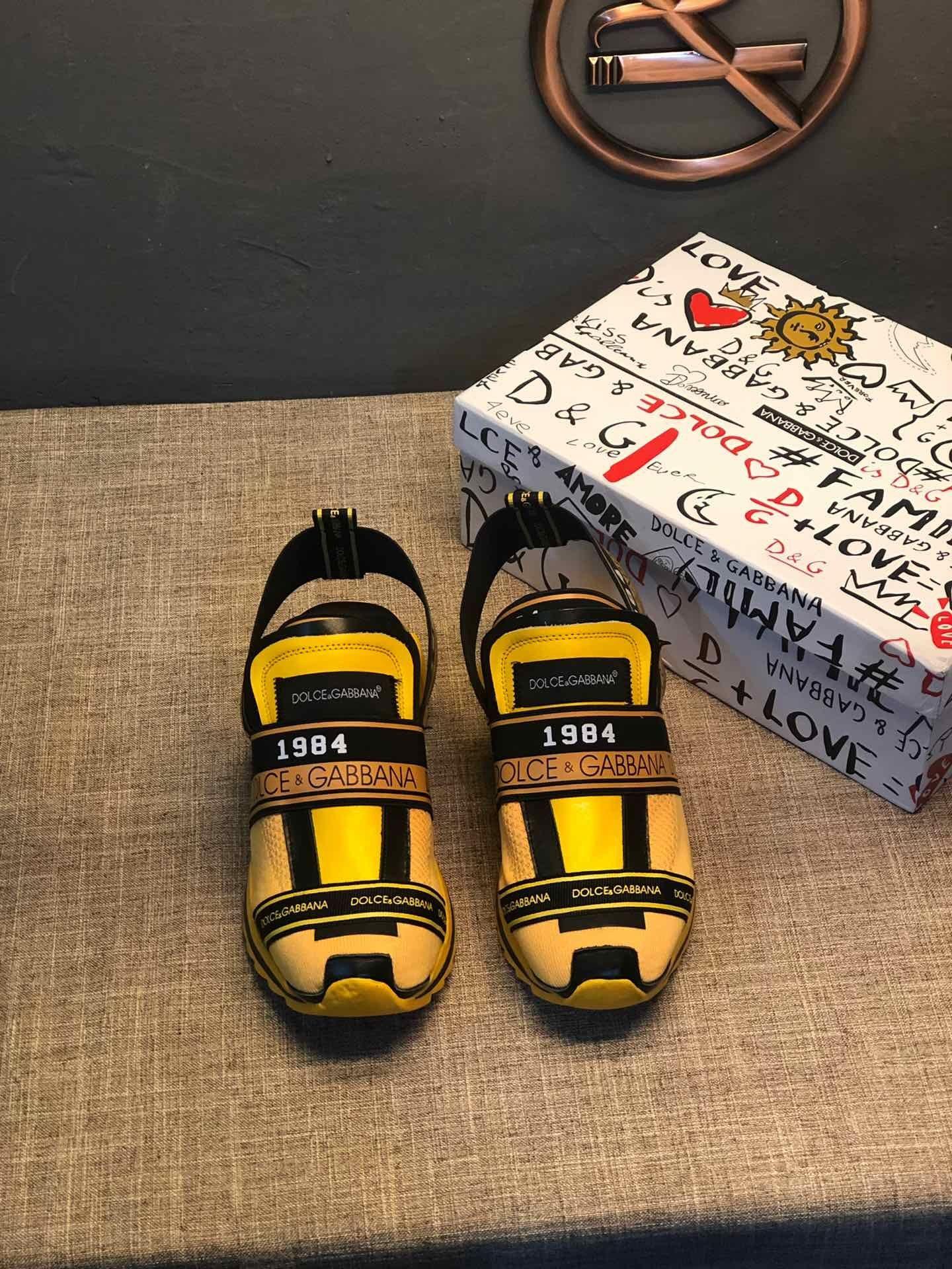 2020 da scarpe uomo di Design de luxe yellwo luxe noir bottillons en tricot extensible marques de formateurs de la plate-forme de CALCADOS # 2F