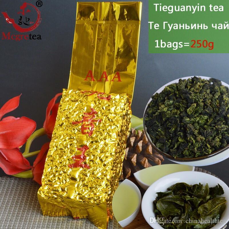 250G وأعلى درجة الصينية انشى الشاي Tieguanyin والشاي الصيني الاسود، تعادل غوان يين الشاي، والشاي الرعاية الصحية، فراغ حزمة، شحن مجاني