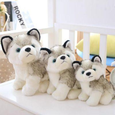 Husky Dog Plush Brinquedos pequenos bichos de pelúcia boneca brinquedos de presente de Natal das crianças do presente Bichos de pelúcia Plush Dolls crianças Brinquedos EEA551