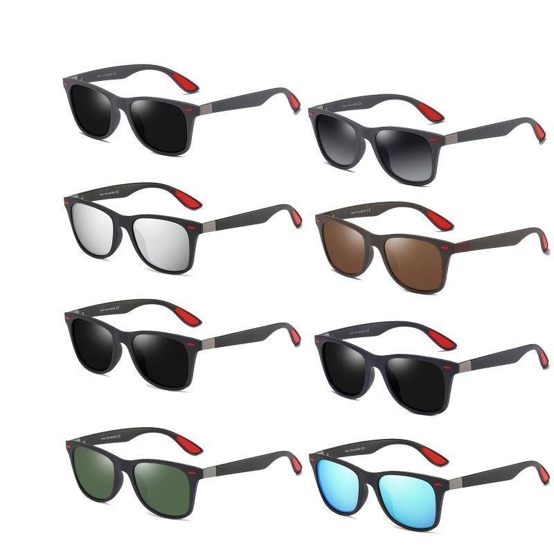 Brand Design lunettes de soleil polarisées hommes Driving Shades Homme Retro Lunettes de soleil d'été pour les hommes Miroir Mode UV400